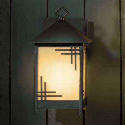 contemporary craftsman sconce