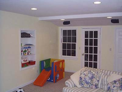 Basement after remodel