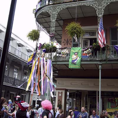 charms of the French Quarter