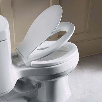 Transitions toilet seat for kids' bathrooms