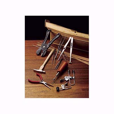 a beginning builder's tool kit for model ship projects