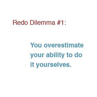 overestimate ability