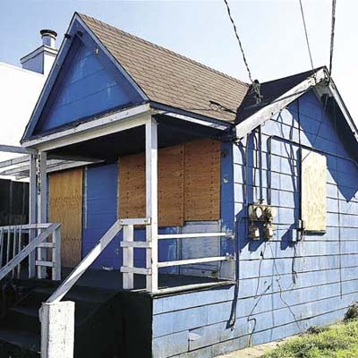 earthquake shack in san francisco