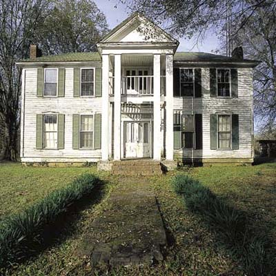greek revival farmhouse in alabama