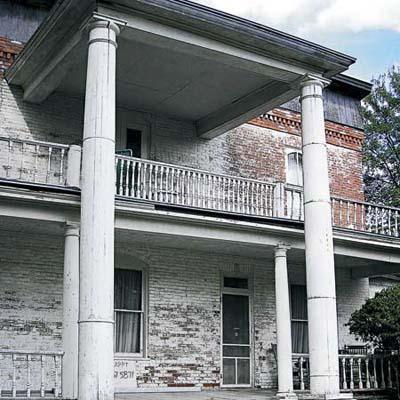 1872 brick manse