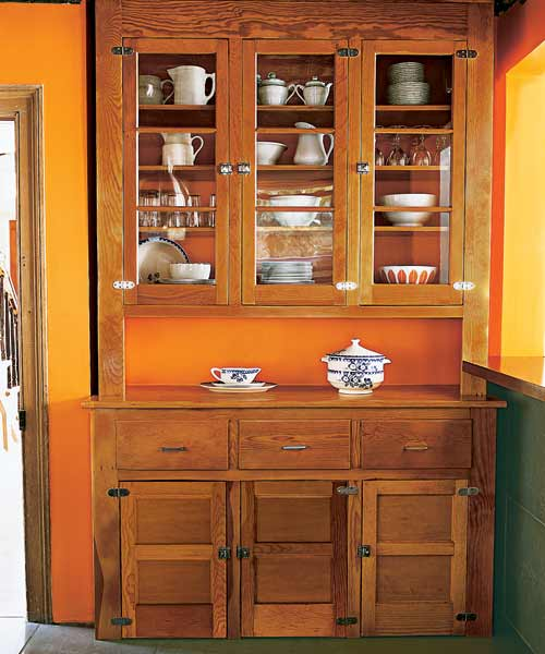 Original Hutch Refurbished A Compact Kitchen Becomes A Small Wonder This