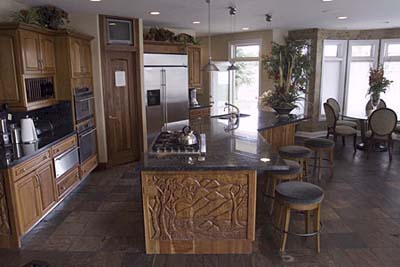 NBA star Carmelo Anthony's kitchen