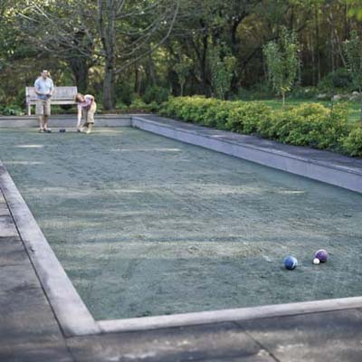 backyard bocce court