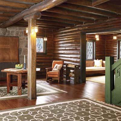 Craftsman Style at Gustav Stickley's lodge