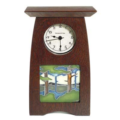 Craftsman-style Mantel Clock