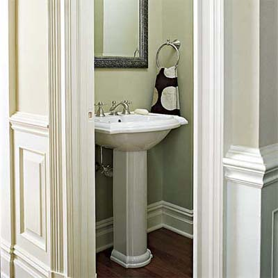 Visual privacy how to plan the perfect half bath this Half bath ideas