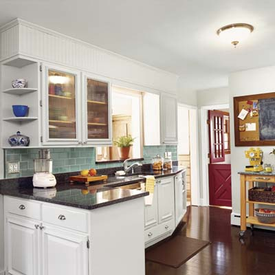 Deal hunters 39 luxe look kitchen we redid our kitchen for for Old home kitchen remodel