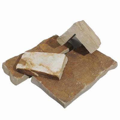 warm squares stone veneer