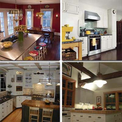 four user submitted kitchen remodels