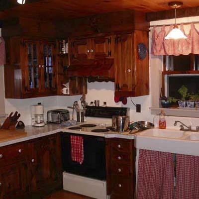 lighter, brighter kitchen before remodel