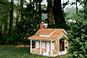craftsman miniature doghouse