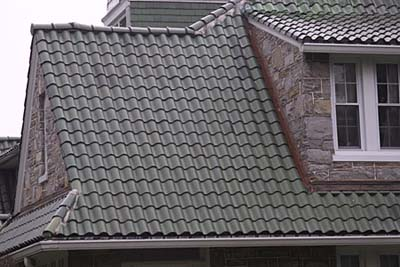 Metal Mimics Tile Roofing Materials This Old House