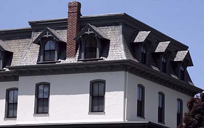 Mansard roof shapes this old house for Mansard roof section