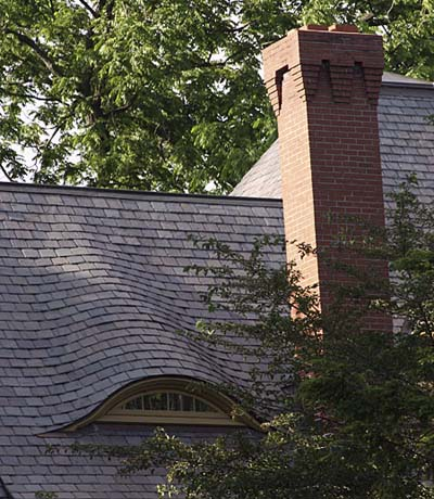 Gabled but Curved roof