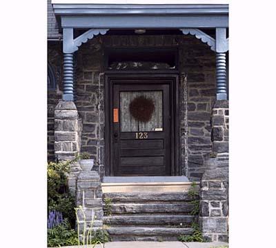Eastlake Style portico