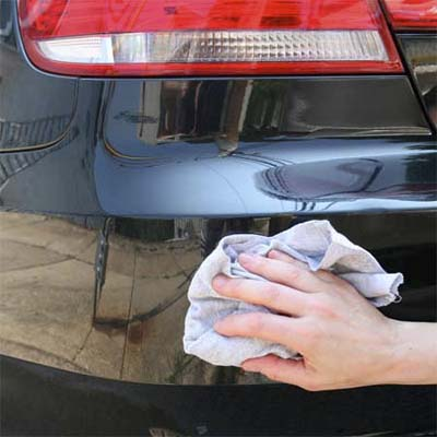 car wax can help protetct against bumper sticker residue