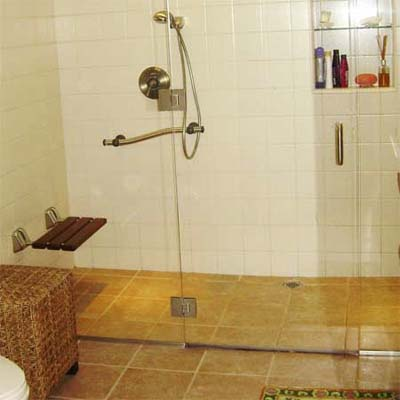 6 Install A Curbless Shower Put Safety First 14 Universal Design Tips This Old House