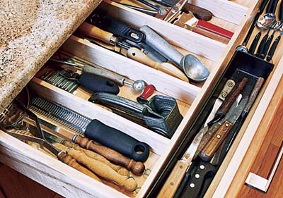 Cutlery drawers