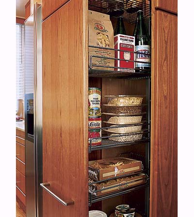 floor to ceiling pantry