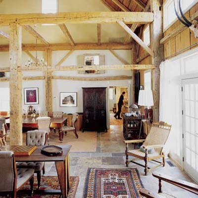 adaptive reuse of a Vermont barn