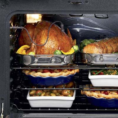 large oven interior from Kenmore appliances