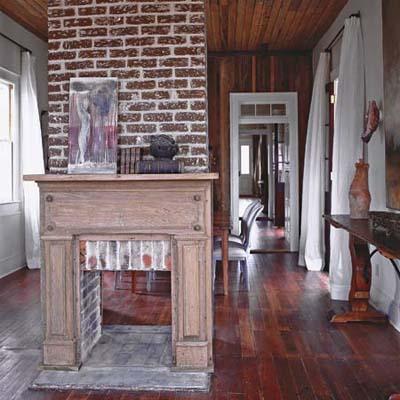 brick, masonry, fireplace, chimney