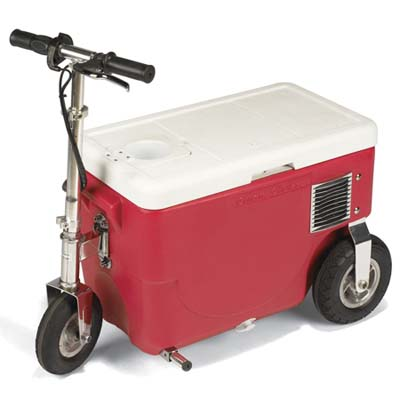 go-cart cooler that goes 14 MPH