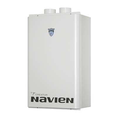 the Navien tankless water heater