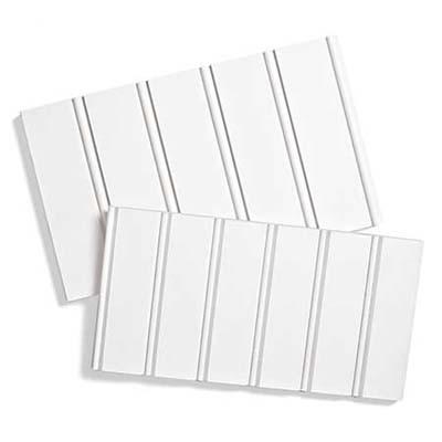 white beadboard