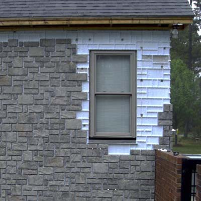 Suretouch masonry siding system best new products for for Brick stone siding