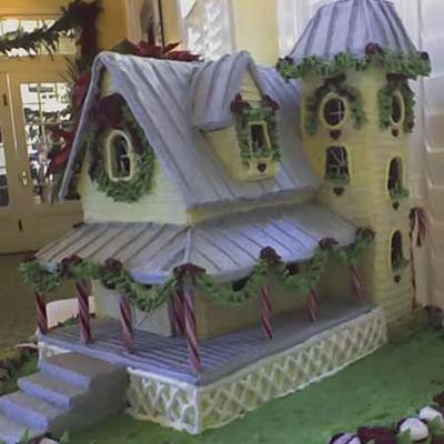 gingerbread house contest winner