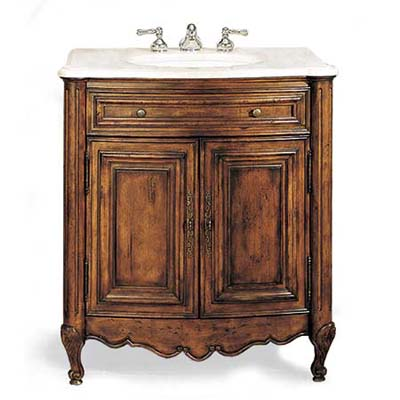 mid-range priced vintage-look vanity sink