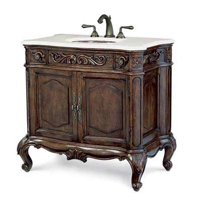 luxury priced vintage-look vanity sink