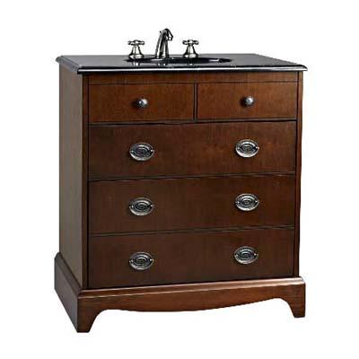 traditional budget model vintage-look vanity sink