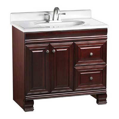 stately look vintage-look dresser vanity