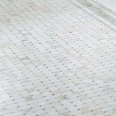 Basket Weave Floor Tile Vintage Bath At A Budget Price This Old