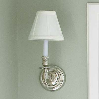 candlestick sconce for the vintage bathroom
