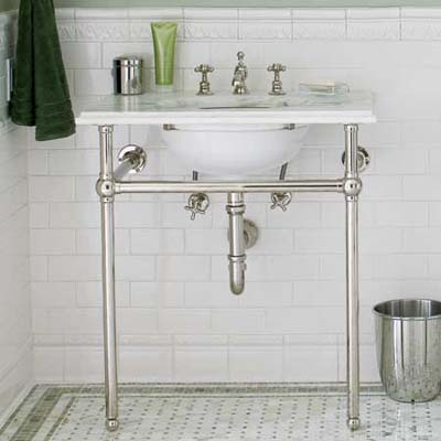 Retro Sinks Bathroom : Vintage Bathroom Sink Washstand sink for a vintage