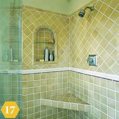 Vaired tile patterns