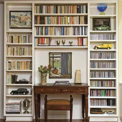 build in a home office niche