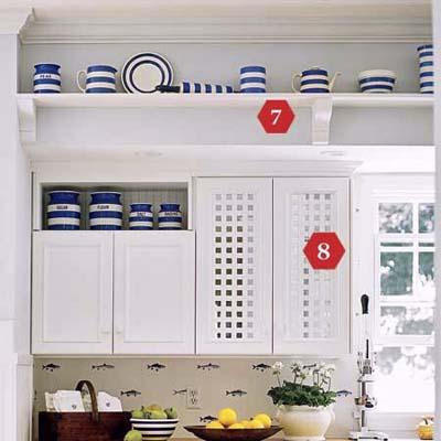 create crisp cottage style
