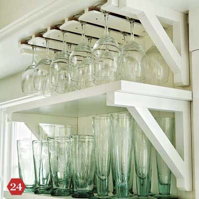 Smart Storage Solution Glass Rack 28 Ways To Customize