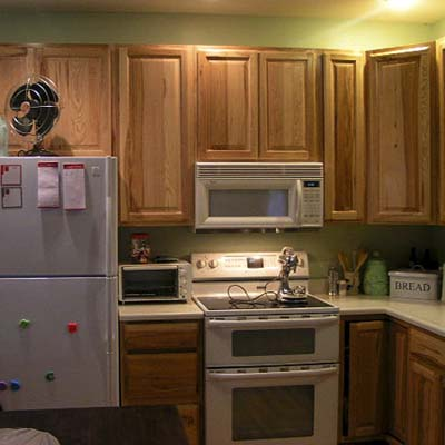 a reader remodeled kitchen before in Kalamazoo, MI