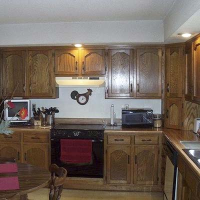 a reader remodeled kitchen before in Nevada, MO
