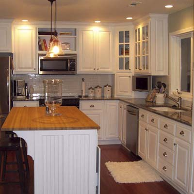 a reader remodeled kitchen after in Nevada, MO